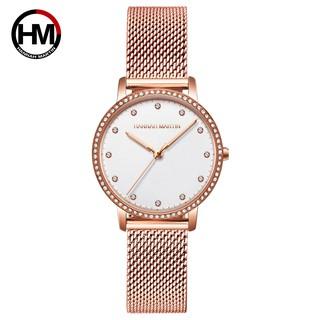 Đồng hồ nữ Hannah Martin PHIÊN BA N DÂY THE P HM-107WF thumbnail