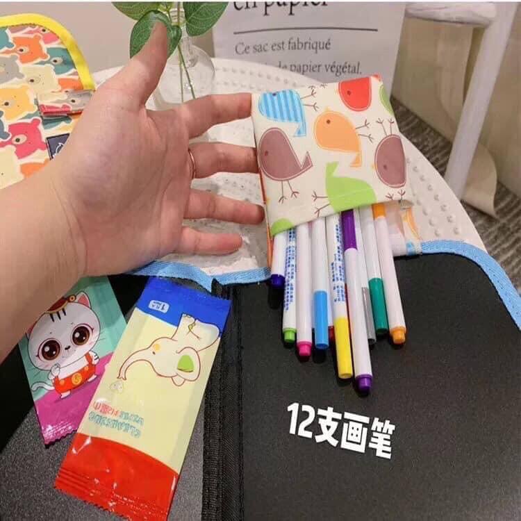 Sách vẽ xóa được cho bé tập dùng bút