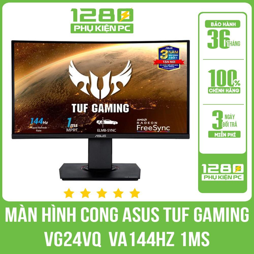 Màn Hình Cong ASUS TUF Gaming VG24VQ 24″ FullHD 144hz VA 1ms
