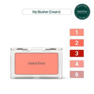 Phấn má hồng dạng kem innisfree My Blusher Cream 2.6g