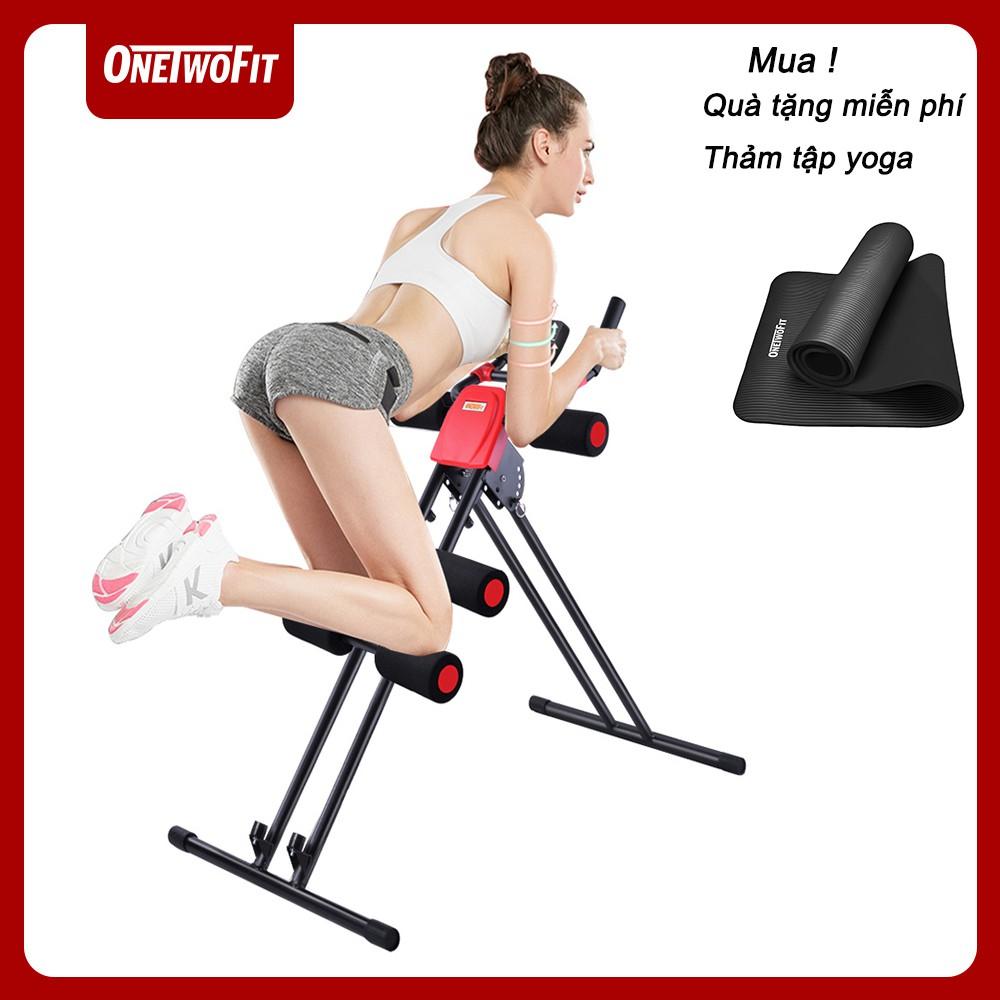 OneTwoFit Máy tập bụng đa năng, Máy tập cơ bụng,thiết bị tập cơ bụng giảm mỡ bụng OT016