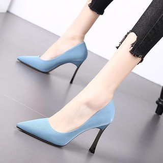 ✲▼Dadong women s shoes new clearance high heels 2019 Korean version of the spring pointed metal stiletto fashion [posted on May 23]
