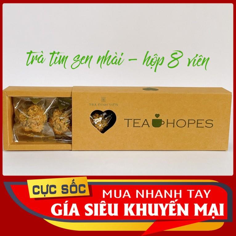Tea Hopes - Trà viên tim sen, đặc sản xứ Huế - 105g
