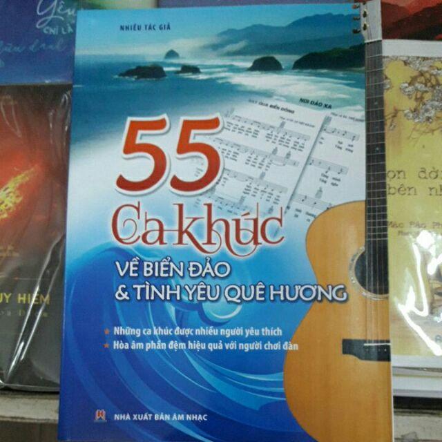 55 ca khúc về biển đảo quê hương.