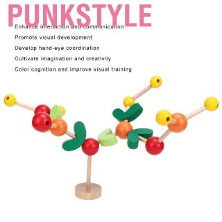 Punkstyle Kid Child Assembly Building Block Early Educational Hand-Eye Coordination DIY Tree Toy