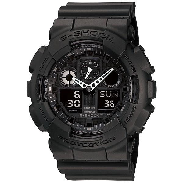 Đồng hồ G-Shock Nam GA-100-1A1 chính hãng bảo hành 5 năm Pin trọn đời