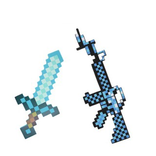 Combo Kiếm Súng Minecraft Diamond
