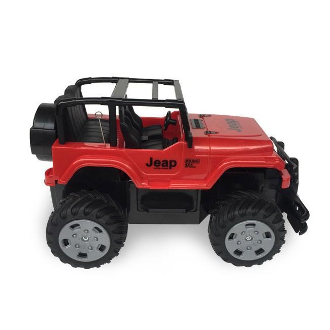 [GIÁ XƯỞNG SỈ] Xe jeep off-road leo núi điều khiển từ xa (254)