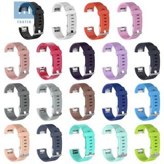 Dây Đeo Thay Thế Chất Liệu Silicon Thiết Kế Nhiều Lỗ Thời Trang Cho Fitbit Charge 2