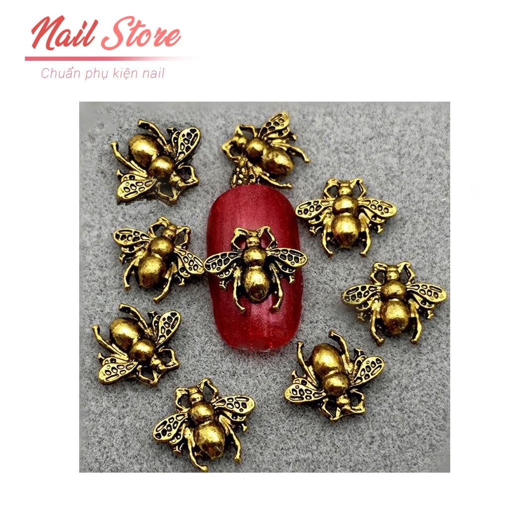 Combo 10 viên Trang trí móng hình con ong gắn móng đẹp - Nail Store