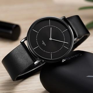 Đồng hồ nam Yazole 508 2 kim dây da thời trang sang trọng lịch lãm thumbnail
