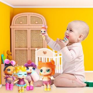 ✿TA Toys DIY Wear Clothes Bottle Girl Doll Baby Change Dolls Action Figure