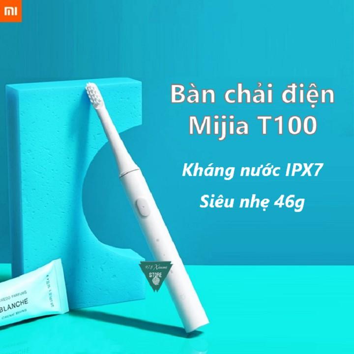 [CHÍNH HÃNG] Bàn chải điện Xiaomi Mijia T100 - Bàn Chải Đánh Răng Mijia T100