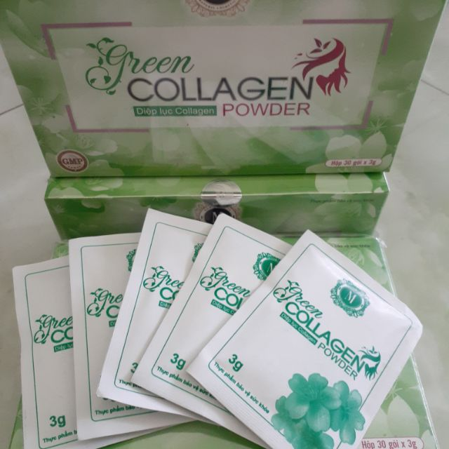 Diệp lục Collagen CHÍNH HÃNG