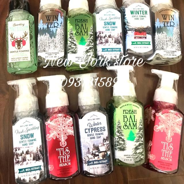 Rửa tay Bath&Body Works 259ml USA phiên bản Noel