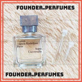 [S.A.L.E] Nước Hoa dùng thử MFK Aqua Universalis Test 10ml 20ml .founderperfume thumbnail