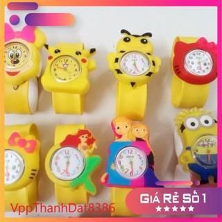 (Sale) Đồng hồ đập tay dành cho trẻ em (cả bé trai và bé gái) nhiều mẫu siêu đáng yêu thumbnail