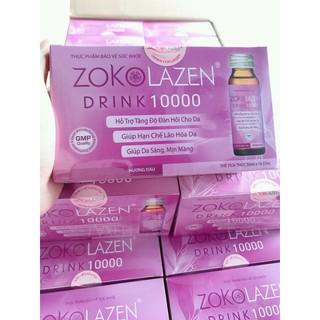 Zokolazen collagen 10.000mg. mua 2 hộp tặng 1 sữa rửa mặt freshel kanebo