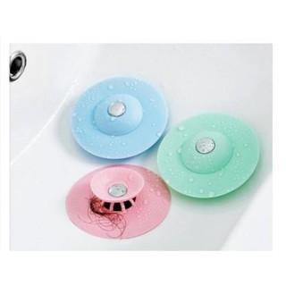 MIẾNG Chặn Rác Bồn Rửa Bát - Bồn Rửa Mặt - Bật Mở Thông Minh - Ngăn Mùi Bồn Tắm - Nắp Cống thumbnail