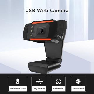 [Mã ELFLASH11 giảm 10K đơn 20K] Webcam USB 1080P 720P 480P dùng cho máy tính và học tập online thumbnail