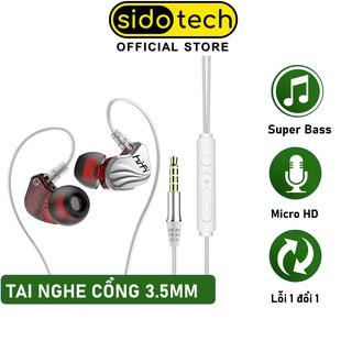 Tai Nghe Điện Thoại In Ear SIDOTECH S200 3.5 mm Cách Âm Chống Ồn Có Dây Nhét Tai - Hàng Chính Hãng thumbnail