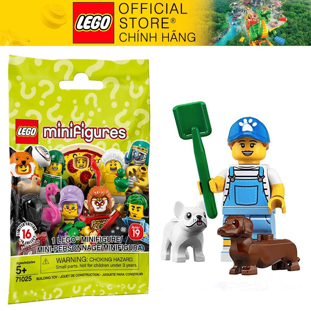 Nhân vật LEGO Minifigures Series 19 Dog Sitter – Hàng chính hãng Lego