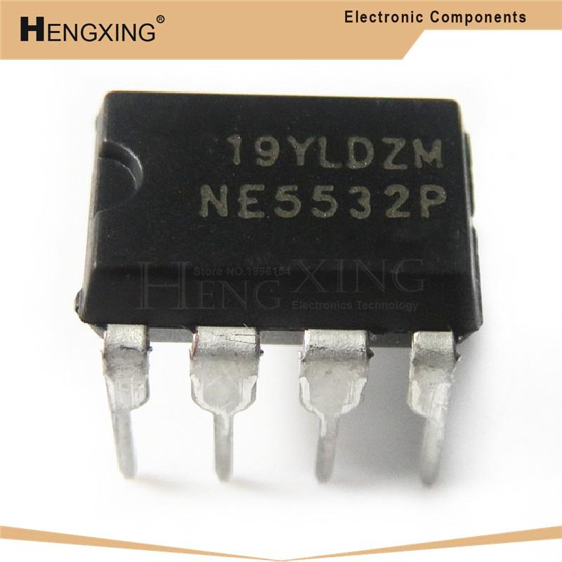 Linh kiện điện tử Ic Ne5532 Ne5532N Ne5532P 5532 = Njm5532Dd 5532ddddd 5532d Dip-8