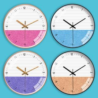 Đồng hồ treo tường kim trôi cao cấp AOBA-MK126-130