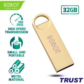 [Mã ELFLASH5 giảm 20K đơn 50K] USB Thiết Bị Lưu Trữ 32GB ROBOT RF332 Flash Drive Kim Loại Siêu Nhẹ Kết Nối Nhanh