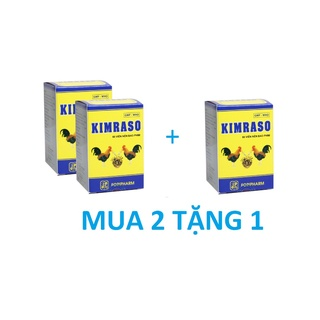Viên uống Kimraso hộp 60 viên (MUA 2 TẶNG 1)