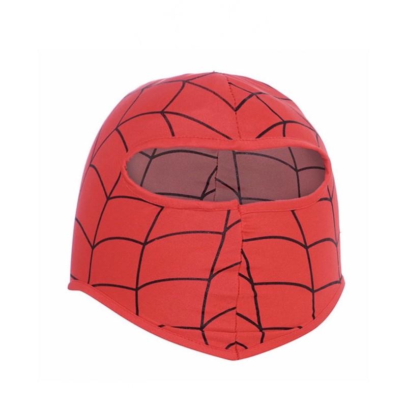Bộ đồ hoá trang siêu anh hùng người nhện Spider man kèm nón mặt nạ và dây nịch