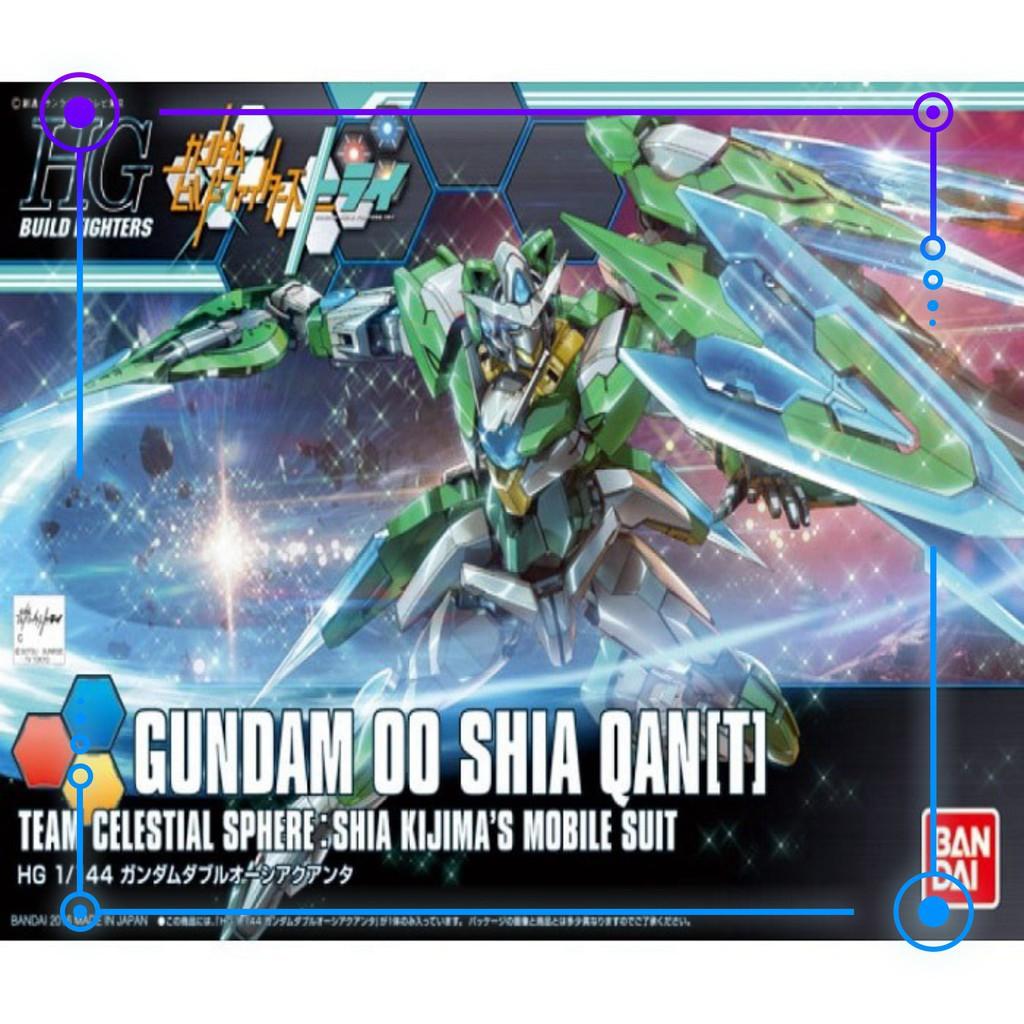 Mô hình lắp ráp HG Gundam 00 Shia Qant – KIDGundam