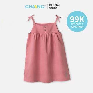 Váy đũi hồng vỏ đỗ CHAANG (SS20) thumbnail