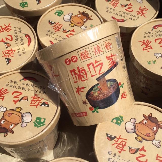 Miến chua cay Trùng Khánh siêu hot
