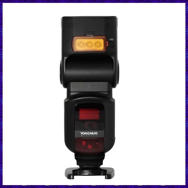 YONGNUO YN968EX N Wireless Flash Speedlite TTL 1/8000 Equipped with LED Light for Nikon DSLR YN622N YN560