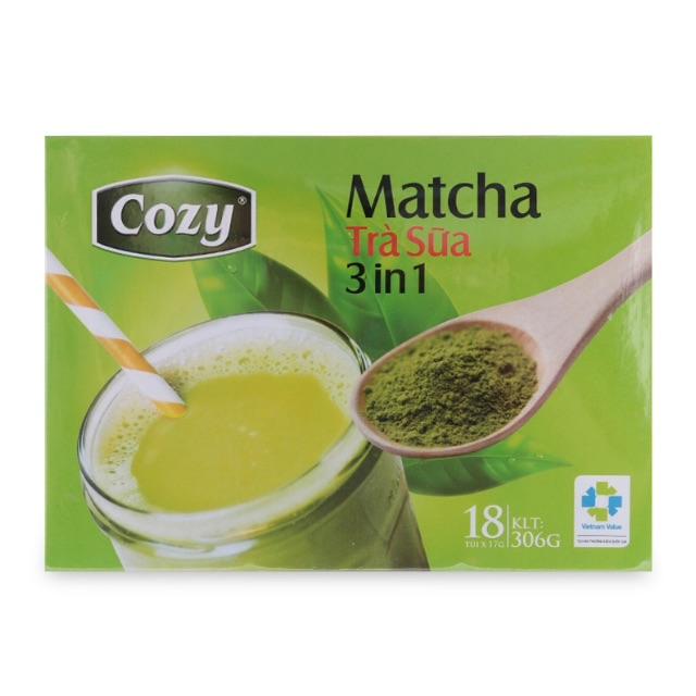 Trà Sữa Matcha Cozy 3in1 306G
