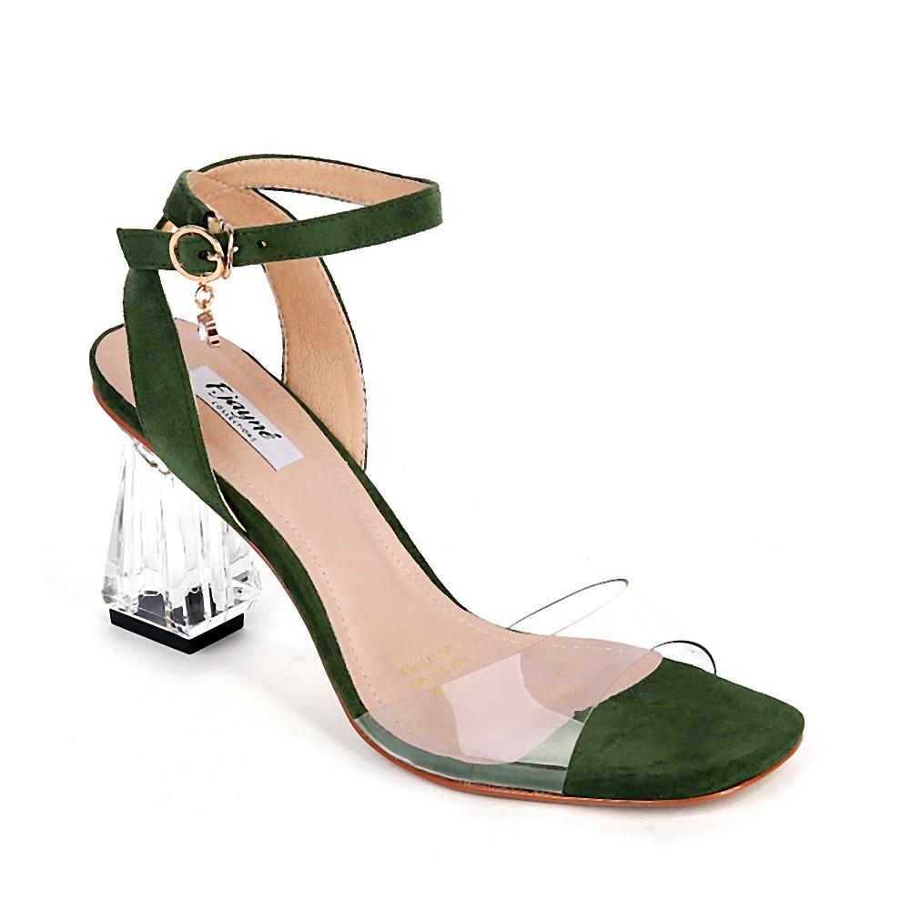 Sandals cao gót nữ F.Jayné FJ030 màu xanh rêu - 3538369 , 1215023329 , 322_1215023329 , 485000 , Sandals-cao-got-nu-F.Jayne-FJ030-mau-xanh-reu-322_1215023329 , shopee.vn , Sandals cao gót nữ F.Jayné FJ030 màu xanh rêu