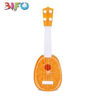 Đàn guitar mini giúp bé phát triển tài năng âm nhạc (màu cam)
