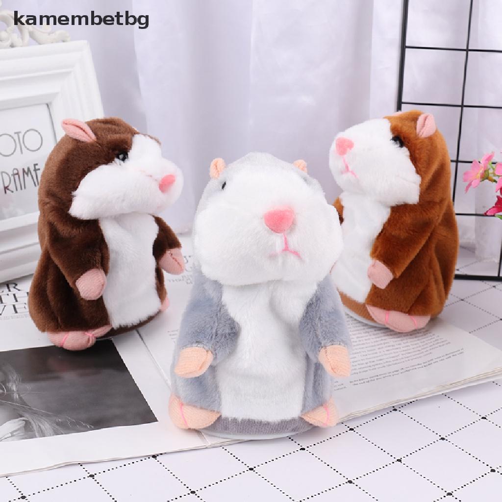Chuột Hamster Nhồi Bông Biết Nói Xinh Xắn Cho Bé