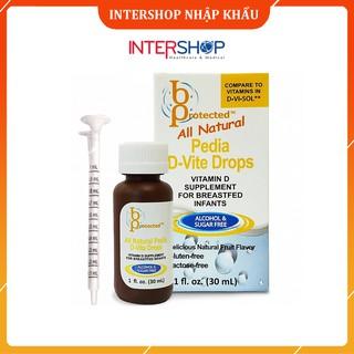 Vitamin D Cho Trẻ Sơ Sinh Pedia D-Vite Drops 30ml Giúp Phát Triển Chiều Cao Tối Ưu thumbnail