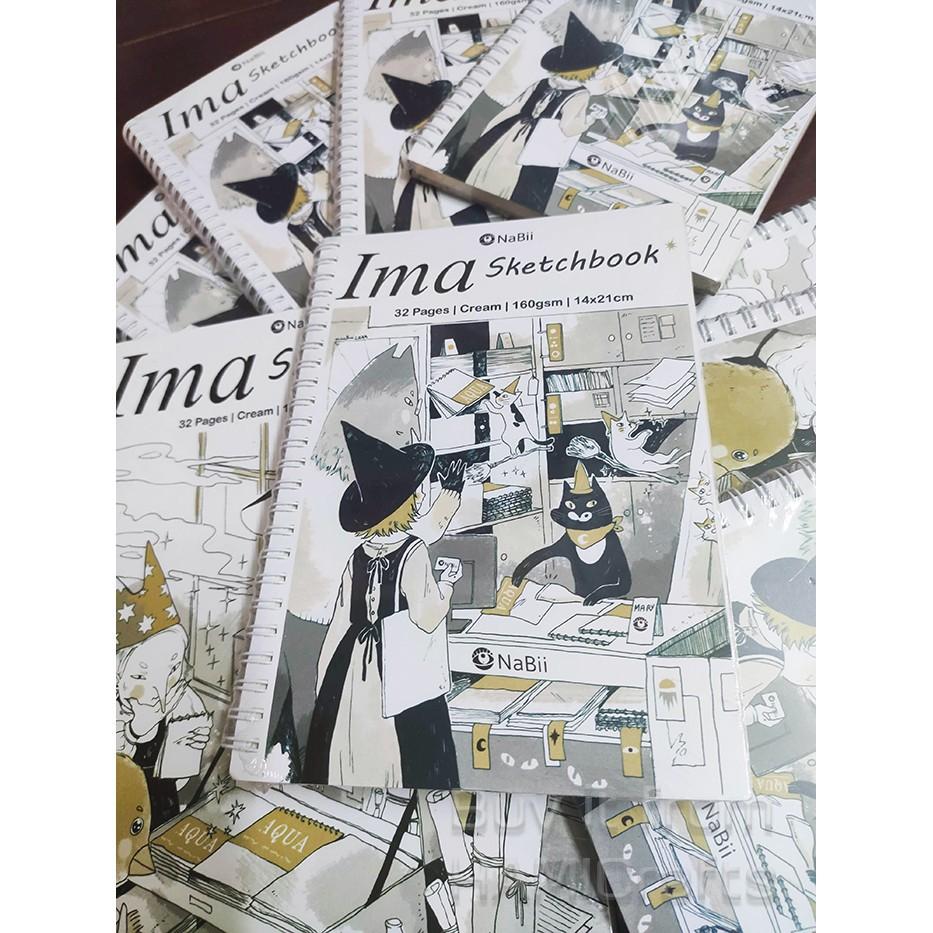 Sổ Vẽ NaBii IMA Sketchbook - 160gr