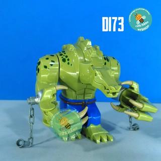 Non Lego – Người cá sấu Killer Croc – Đồ chơi Lego Batman D173 – Size lớn