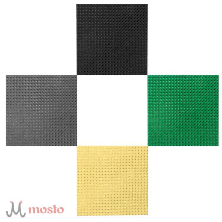 Base plate for Small Bricks Baseplates 24*24 Dots 19x19cm DIY Building Blocks [MO]