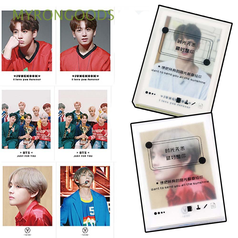 45pcs/set Collective Paper K-pop Fashion Wanna One BTS EXO LOMO Card