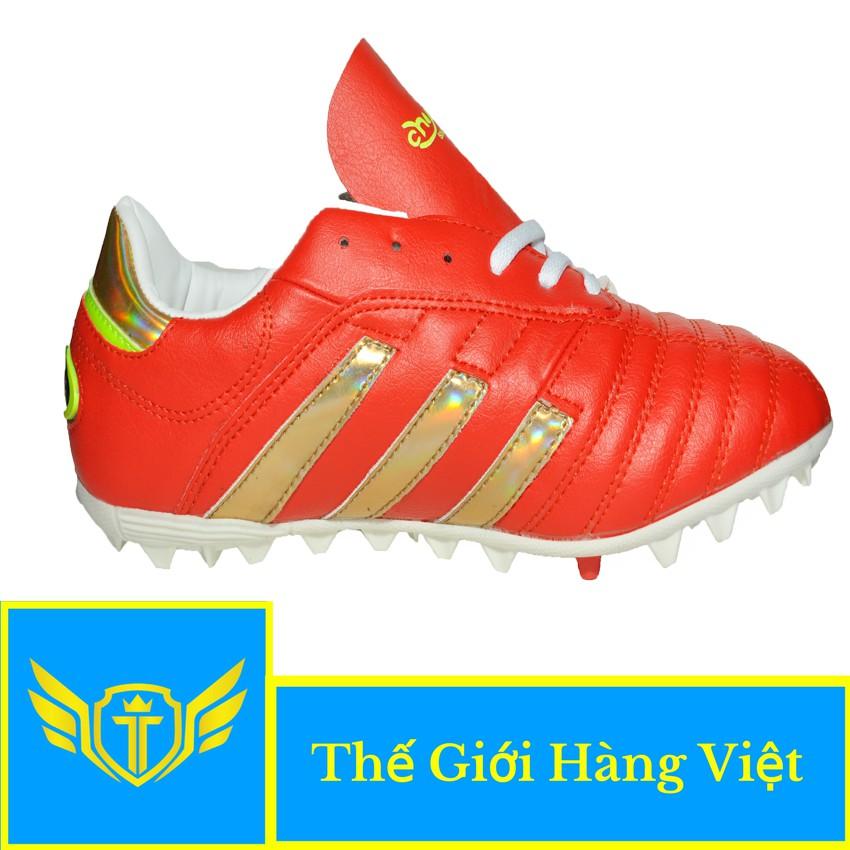 Giày Đá Bóng Sân Cỏ Nhân Tạo 124T (Đỏ)