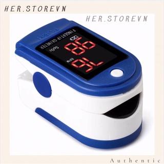 Máy đo nồng độ oxi trong máu Pulse Oximeter LK 87 không tặng kèm pin thumbnail