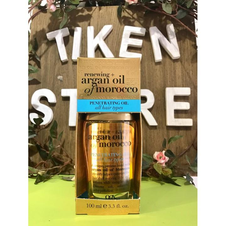 Tinh dầu dưỡng tóc OGX Renewing Argan Oil Of Morocco Penetrating Oil