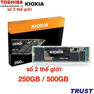 Ổ cứng gắn trong SSD Kioxia (Toshiba) Exceria NVMe 250GB, 500GB, NVMe M.2 2280 - Chính Hãng FPT