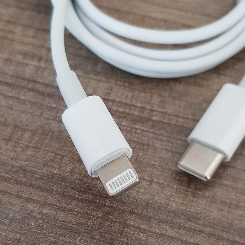 Cáp usb type-c to lightning kết nối dữ liệu, sạc 18w cho Samsung, Macbook