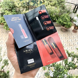 {XẢ KHO SỈ} Sample Son A.Black Artistic Velvet Tint Lux Red by CLIO COSMETICS